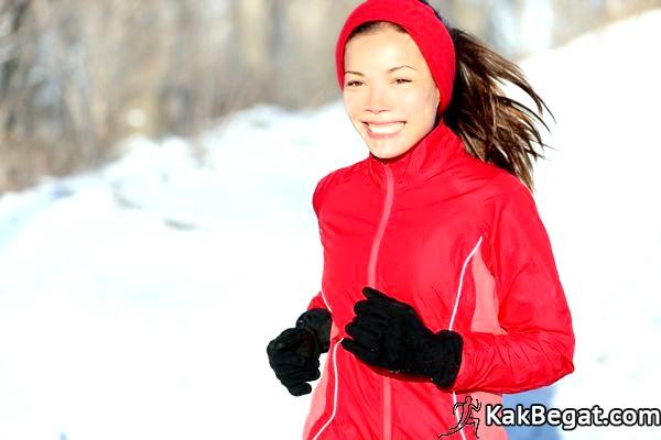 Как бегать зимой фото