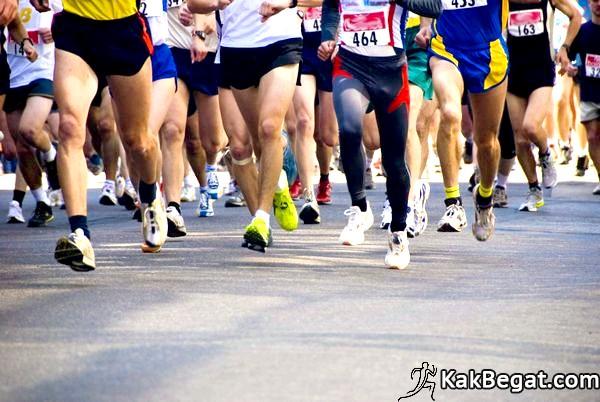 Марафонский бег фото